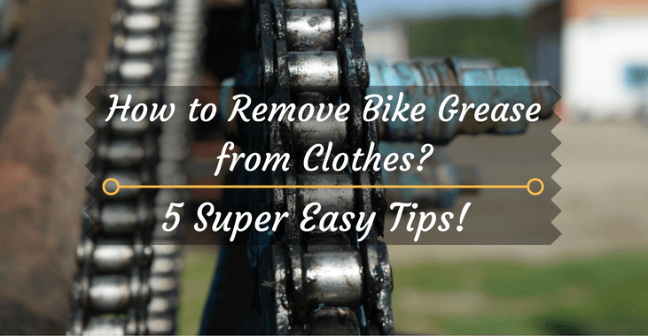 How to Remove Bike Grease