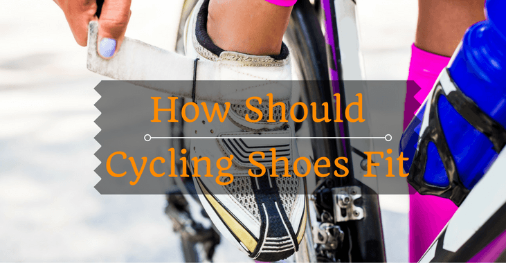 How Should Cycling Shoes Fit Big