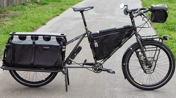 Long Tail Cargo Touring Bikes