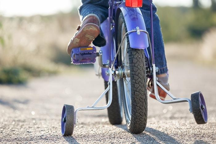 kid bike width