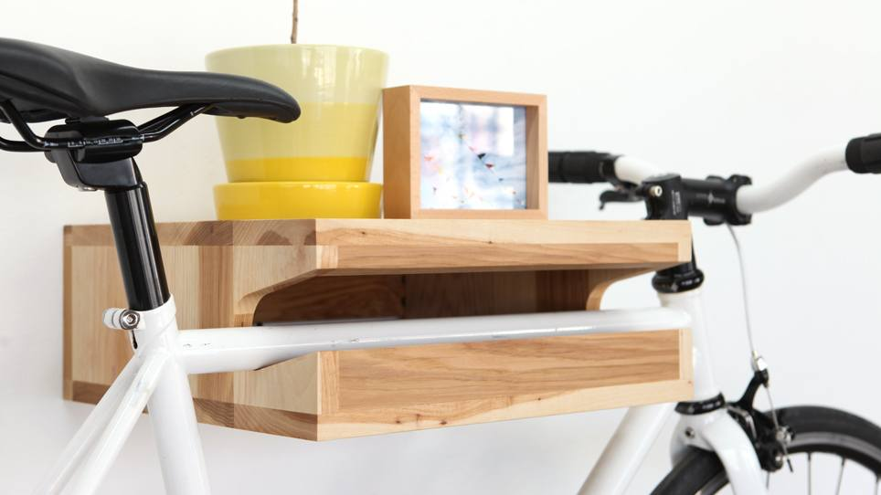 Single bike shelf